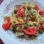 Sonkás ravioli zöld pestoval és parmezánnal 1