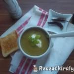 Tejszínes cukkini krémleves mozzarellával 2