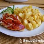 Ketchupos-hagymás-csirkemell