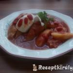 Töltött paprika chilis paradicsomszószban 2