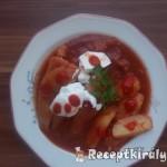 Töltött paprika chilis paradicsomszószban 3