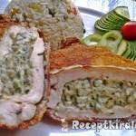 Zöldfűszeres krémsajtos csirkemell 2