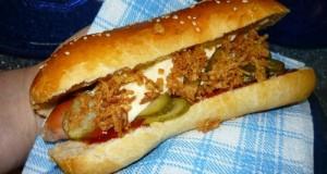 Hot dog kifli
