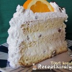 Narancsos Oroszkrém torta 1