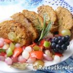 Szőlős vagdalt édes savanyú zöldség körettel 1