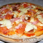 lenmaglisztes pizza