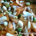 Csirkemáj fűszeres zöldségekkel 2