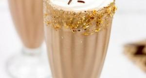 Csokoládé shake mandulával