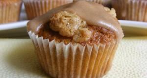 Fahéjas zabpelyhes muffin