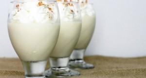 Kókuszos pohárkrém