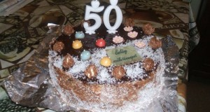 Vaníliakrémes csokitorta