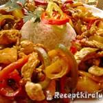 Édes-savanyú csípős csirkemell 1