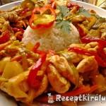 Édes-savanyú csípős csirkemell 2