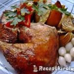 Csirke egészben sütve