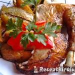 Csirke egészben sütve 2