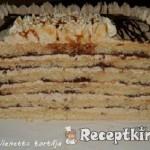 Karamellás-csokis vienetta torta 1