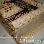 Karamellás-csokis vienetta torta 2