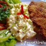 Mustáros rántott sertésborda majonézes krumplival 1