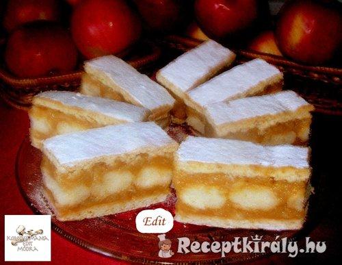 Almás–mézes sütemény