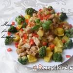 Brokkolis csirkepecsenye 3