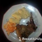Fácáncomb krumplipürével mandarinnal 3