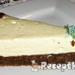 Fehércsoki mousse torta 1