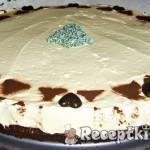 Fehércsoki mousse torta 2
