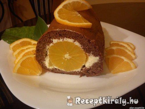 Narancs rolád