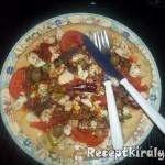 Pizza paradicsomos szardíniával és gomolyával 3