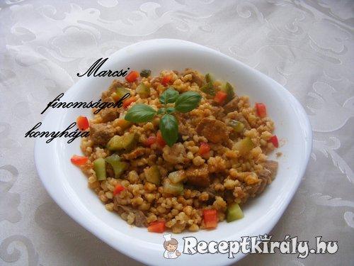 Tarhonyás hús Marcsi konyhájából