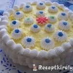 Tejszinhabos vaniliakrémes torta 1