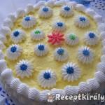 Tejszinhabos vaniliakrémes torta 2