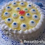 Tejszinhabos vaniliakrémes torta 3