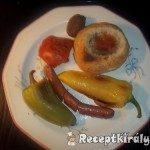 Tojás zsemlében grillezett virslivel 2