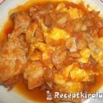 Vörösboros gombás csirkecomb gnocchival 1