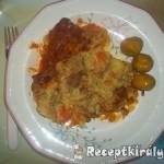 Vörösboros paprikás csirkecomb krumplipürével 1