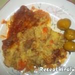 Vörösboros paprikás csirkecomb krumplipürével 2