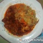Vörösboros paprikás csirkecomb krumplipürével 3