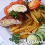 Almás-sajtos csirkemell 1