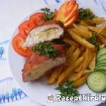 Almás-sajtos csirkemell 3