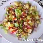 Balzsamecetes vegyes saláta 1