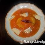Narancsos sütőtökfőzelék pekándióval tökmagolajjal 2