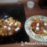 Sajtos tortellini paradicsomos szardíniával 2