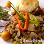 Zöldségekkel sütött karajszeletek 2