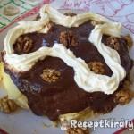 Zserbó palacsinta torta 2