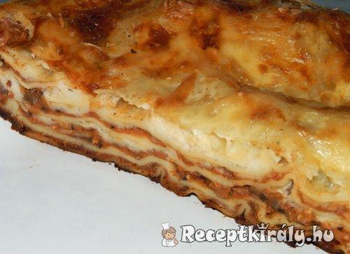Lencsés lasagne