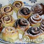 Mézes süt-tökkrémes csiga