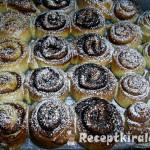 Mézes süt-tökkrémes csiga 2