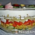 Mimóza saláta 1