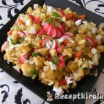 Színes zőldséges saláta 1